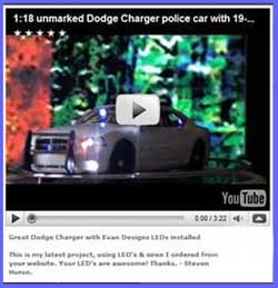 Dodge Charger with Evan Designs LEDs